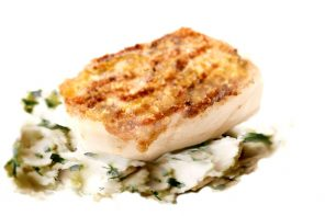 Quick Sweet Sesame Cod